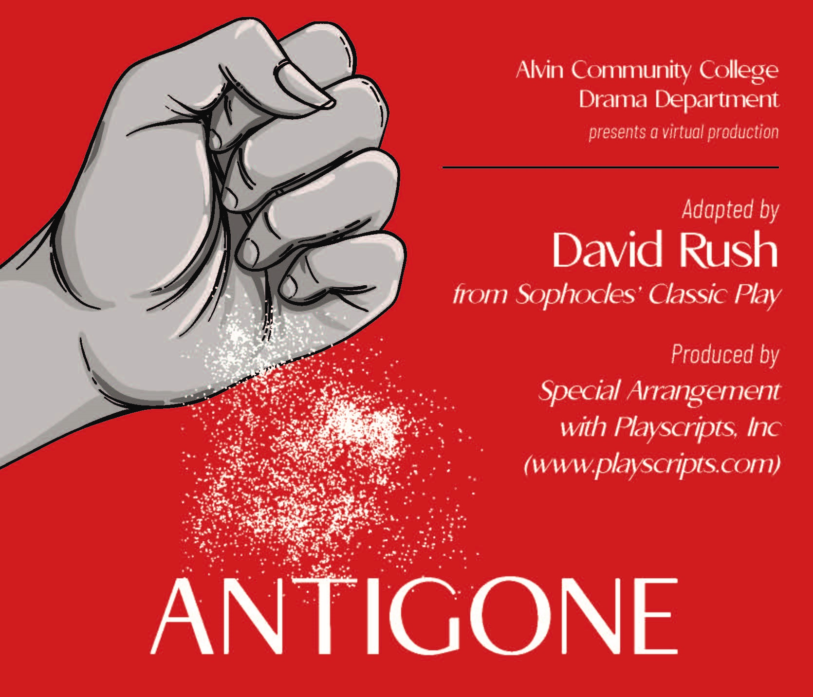 Antigone - adapted by David Rush