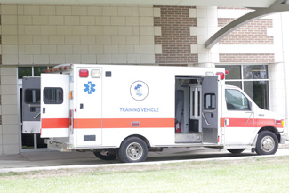 ACC ambulance training vehicle